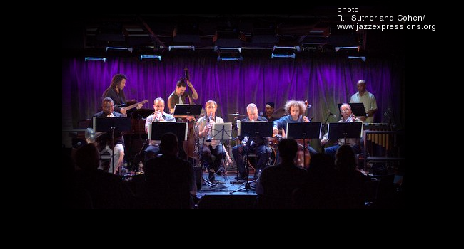 Rob Reddy's Tenfold big band at Subculture in Brooklyn New York